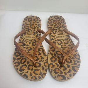 Havaianas Leopard Flip Flops 6